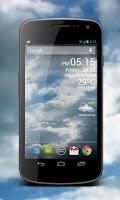 Screenshot of Weather Clock Live
