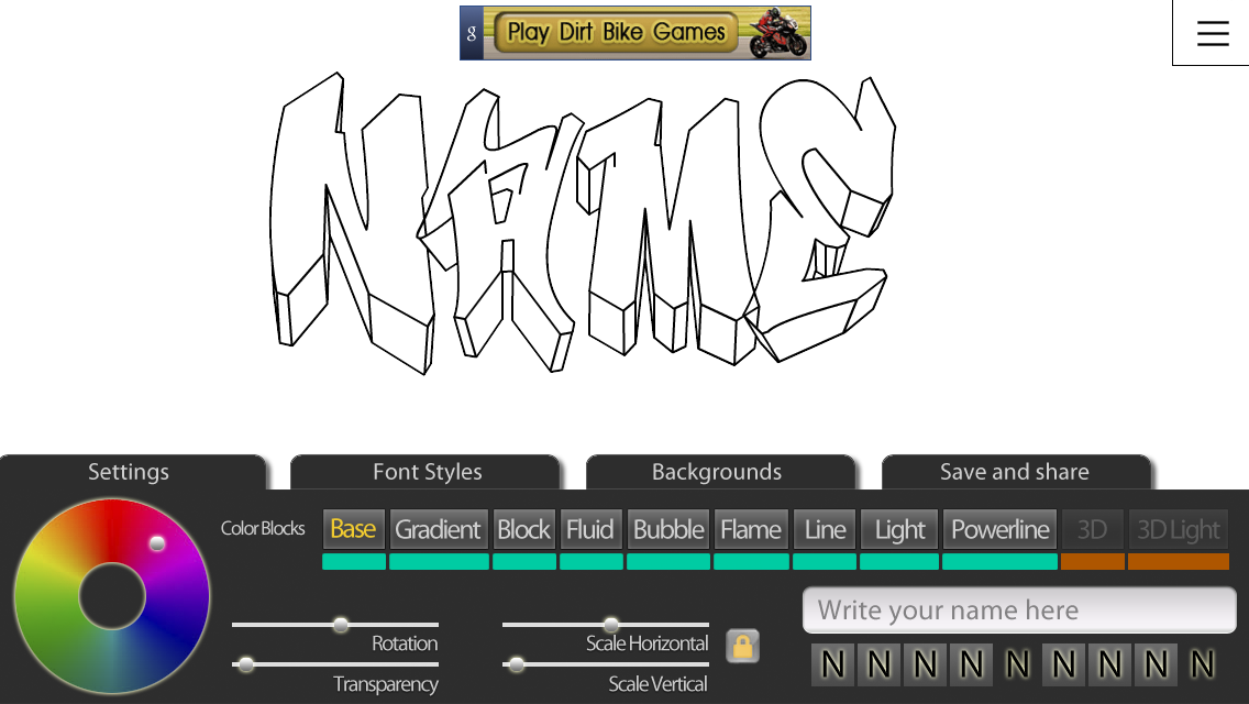 Graffiti Creator Positivos - screenshot