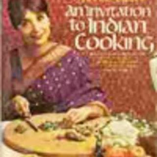 Madhur Jaffrey Vegetarian Recipes.