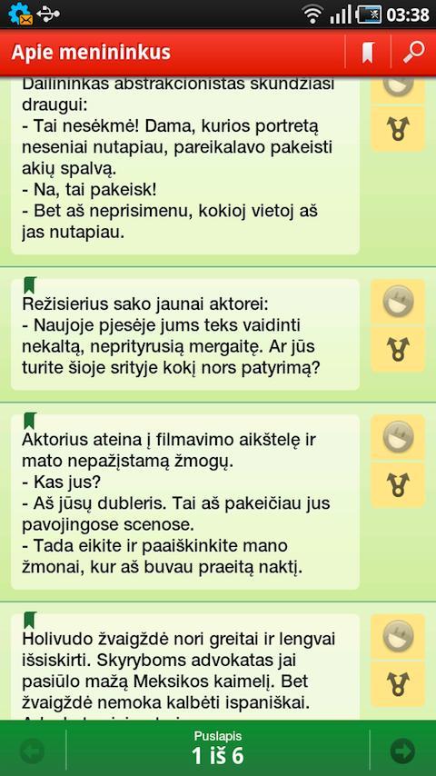 Anekdotai - screenshot
