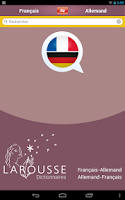 Screenshot of Dictionnaire allemand-français