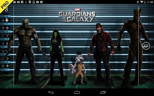 Guardians of the Galaxy LWP- screenshot thumbnail