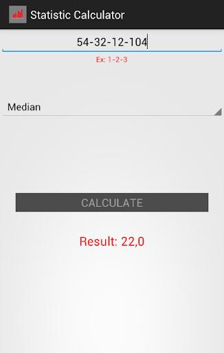Statistics Calculator ++