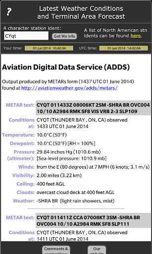 Airport Aviation Weather