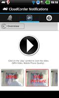 Screenshot of CloudCorder IP Camera Recorder