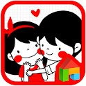 Couple dodol launcher theme icon
