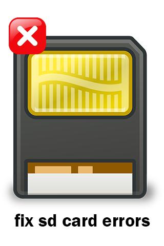 Fix SD Card Errors