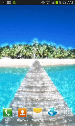 Summer Boardwalk Live Wallpape