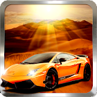 Car Racing 3D - Desert Safari icon