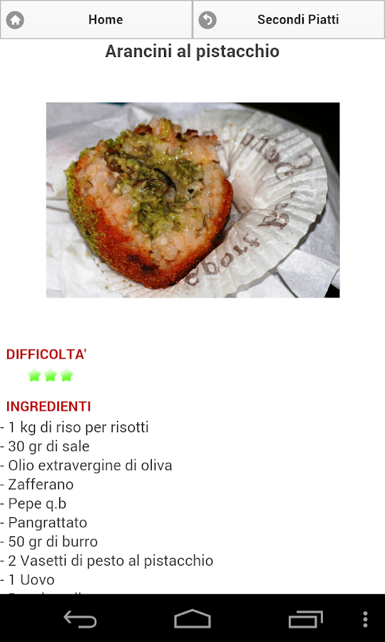 Tutto al Pistacchio - screenshot