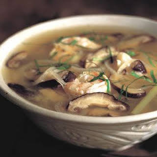 Thai Shrimp and Lemongrass Soup.