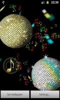 Screenshot of Summer Disco Ball LWP