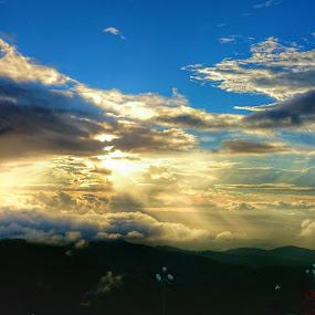 Mountain view  by Tobi Wachr - Instagram & Mobile Android ( xperia, sky, mountain, cloud, z2 )