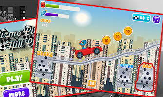 Screenshot of gizmo city hill climb