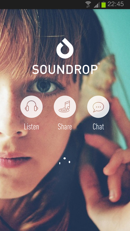 Soundrop - screenshot