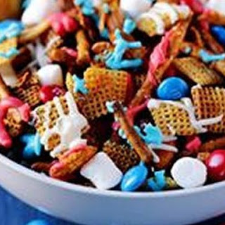 Red White and Blue Chex Mix™ Recipe