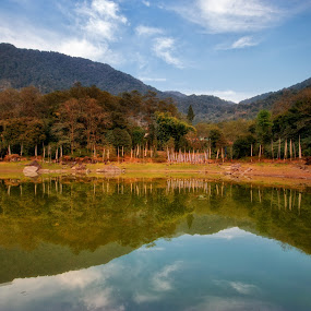 Reflection by Kunal Karmakar - Landscapes Mountains & Hills
