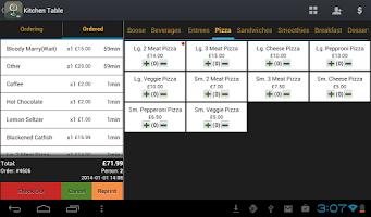 Screenshot of W&O Restaurant POS (Demo)