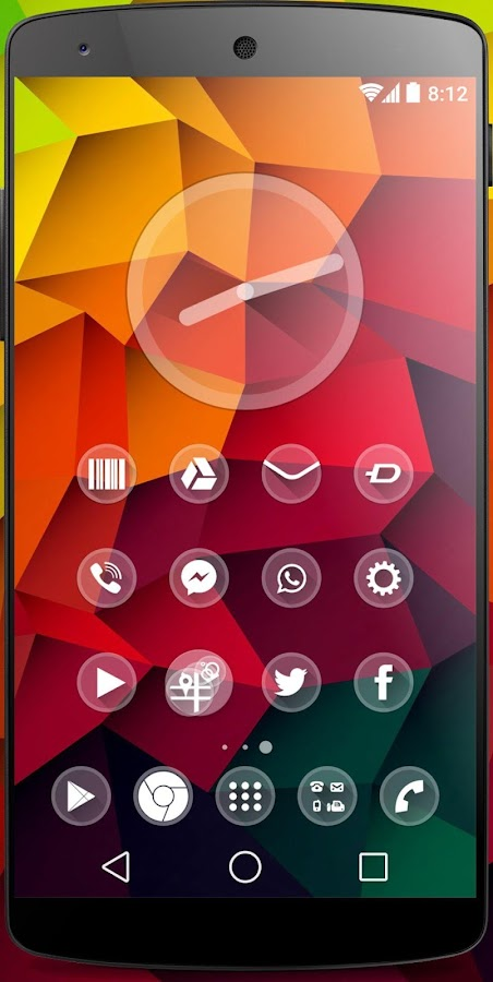one Theme HD icons Pack Glass - screenshot