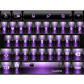 Dusk Purple TouchPal Theme