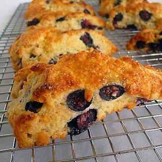 Blueberry-Buttermilk Scones.