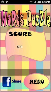 Words Puzzle Deluxe - screenshot thumbnail