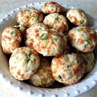 Cheddar Cheese Puffs.