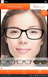 Tilroe Optiek app - screenshot thumbnail