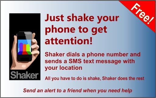Shaker Lite secret alerter