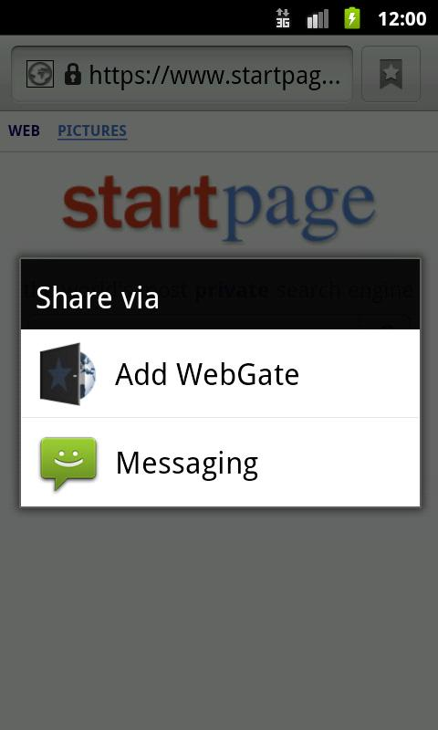 WebGate Bookmark Organizer- screenshot