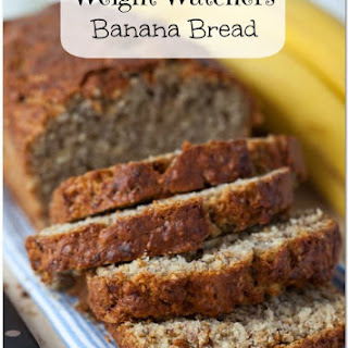 Weight Watchers Banana Bread.