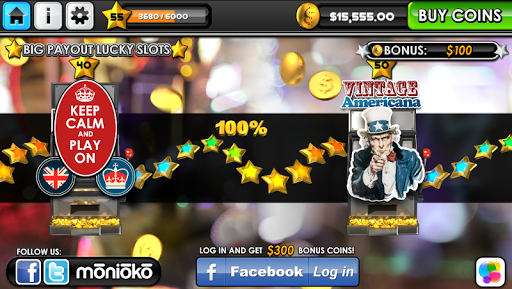 Big Payout Lucky Slots