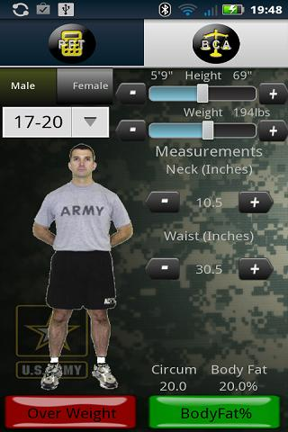 Army PFT - screenshot