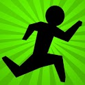 Vector Stickman Parkour Hero icon