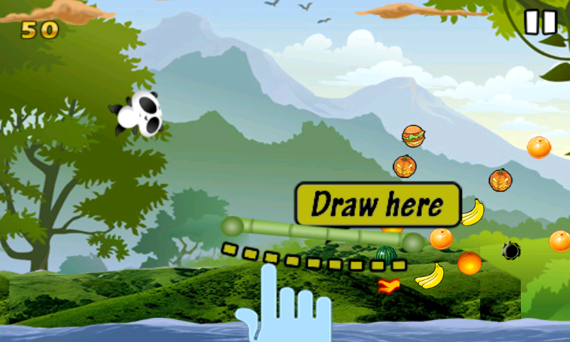 Help panda game- screenshot