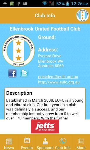 【免費運動App】Ellenbrook United FC-APP點子