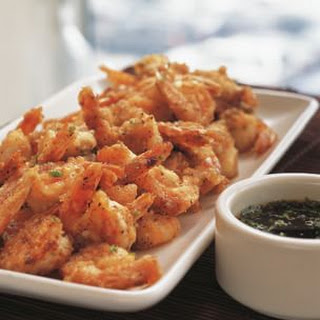 Spicy Salt-and-Pepper Shrimp.