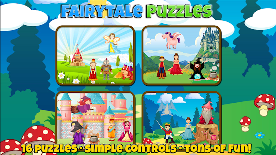 Fairytale Puzzles: Fun For a Princess or Prince- screenshot thumbnail
