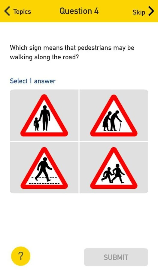 Theory Test Pro- screenshot