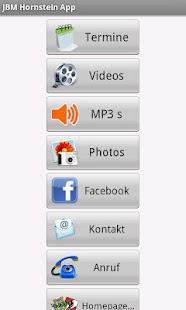 JBM Hornstein App- screenshot thumbnail