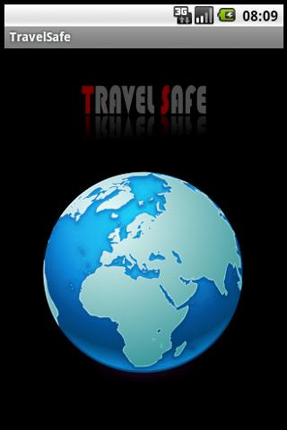 TravelSafe - screenshot