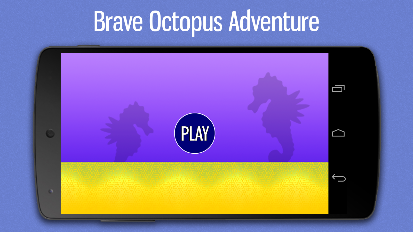 Brave Octopus Adventure- screenshot