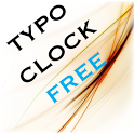 Typo Clock Free Widget icon