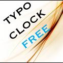 Typo Clock Free Widget icon