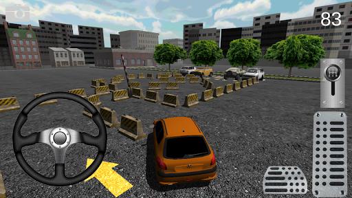 三維城市停車場