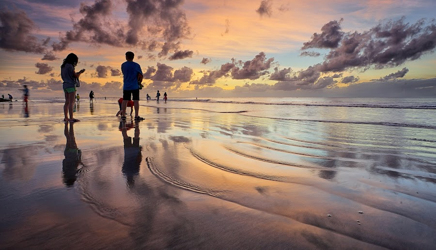 Kuta Magic by Christopher Harriot - Landscapes Beaches ( bali, sand, kuta, sea, beach, sun )