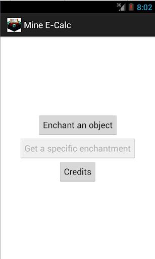 Enchantment Calculator
