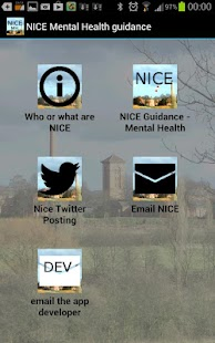 NICE Guidance in Mental Health- screenshot thumbnail