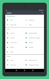 Gem Emerald CM12 Theme v1.3.1