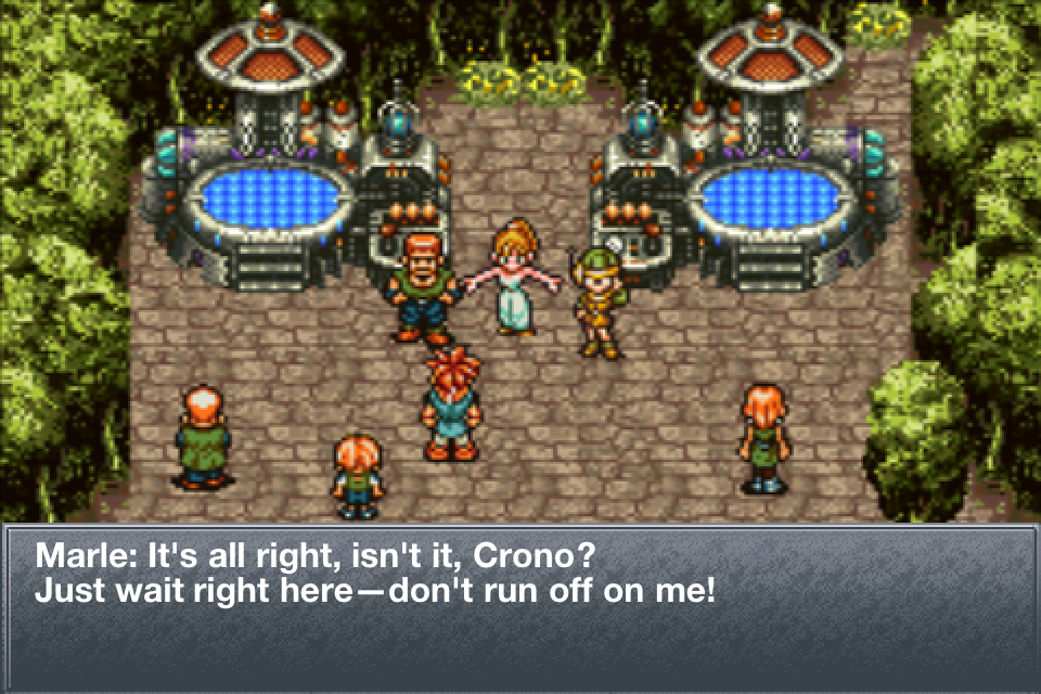 CHRONO TRIGGER- screenshot